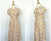 Vintage Cotton Dress - fu...