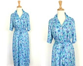 Vintage 70s Shift Dress -...
