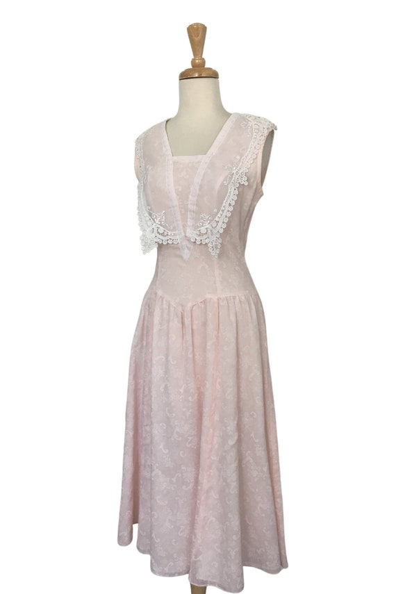 Vintage Gunne Sax Cottagecore Prairie Dress - Sma… - image 5