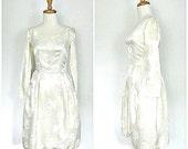 1950s Wedding Dress - 50s...
