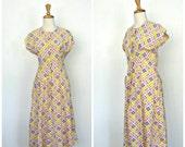 Vintage Cotton Dress - fu...