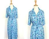 Vintage 70s Shift Dress -...
