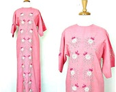 Vintage Maxi Dress - 60s ...
