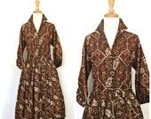 Vintage 50s Dress - fit a...