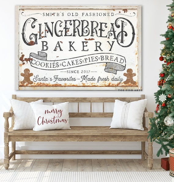 King Size Bed With Storage, Rustic Farmhouse Kitchen Decor Custom Family Name Sign Etsy