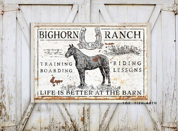 Ride At Your Own Risk Horseback Horses Equine Metal Sign Or Decal 7 Sizes