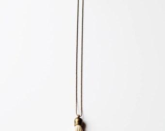 Essential Oil Diffuser Tassel Necklace | Cream Tassel Necklace | Vegan Suede Jewelry | Aromatherapy Necklace | Long Tassel Necklace