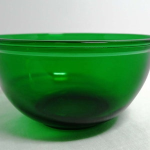 Green Depression Glass Stemmed Serving Bowls Home and Garden Kitchen and Dining Serve Ware Tableware Bowls