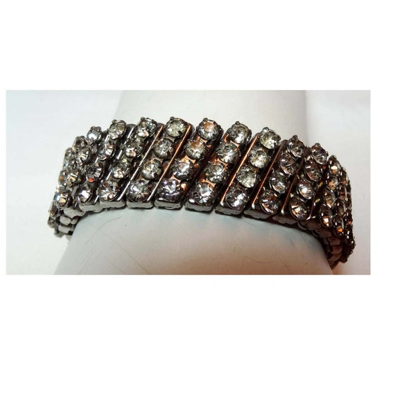 1950's Rhinestone stretch bracelet Apparel & Acces