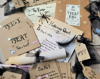 Personalised Children's Halloween Hunt Kit