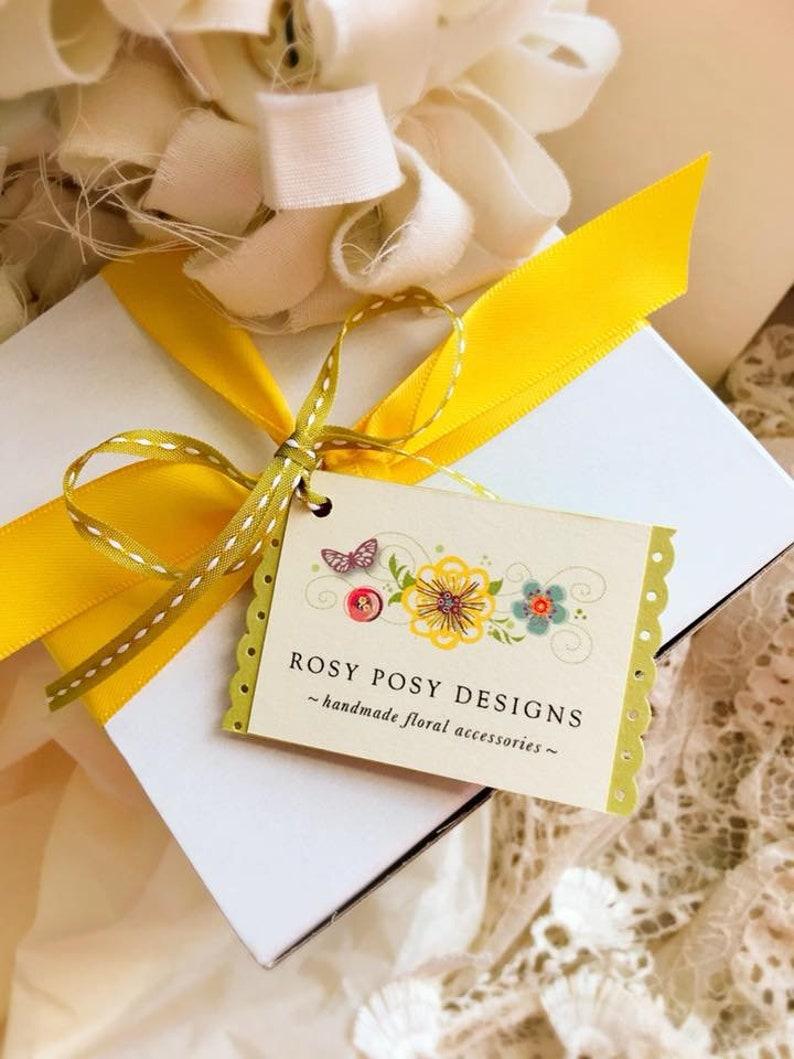 Festival Accessories Women Flower Necklace Boho Gift for Girls Ribbon Choker