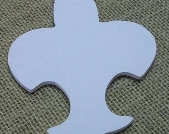 Fleur-De-Lis great project for Boy Scouts or School fund raisers. Ready to paint.  Set of 10