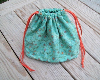 Two-At-a-Time Sock Knitting Bag