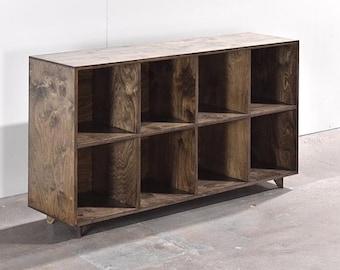 Custom Vinyl Storage Cabinet