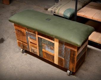 Reclaimed Pine Storage Trunks
