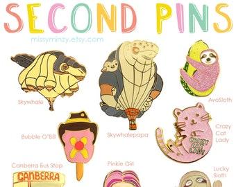 Enamel Pin Seconds Sale Pin Badge Lapel Pin Enamel Badge Cute Pins Stocking Fillers Christmas Gift Ideas Souvenir