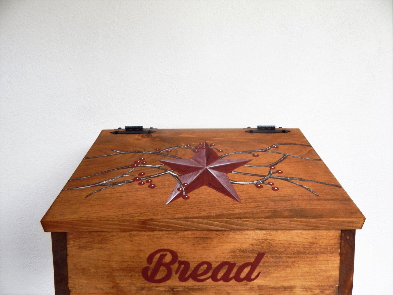 Bread Box Wooden Bread Box Primitive Bread Box Primitive