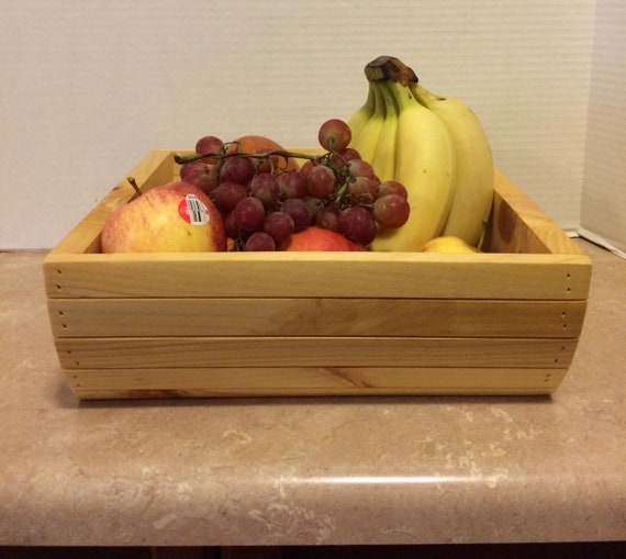 Fruit basket wooden fruit basket wooden basket basket for fruit kitchen basket home decor kitchen decor storage basket basket for bathroom