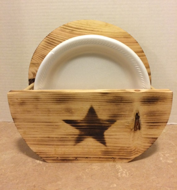 Paper Plate Holders - SealsFamilyWoodworks