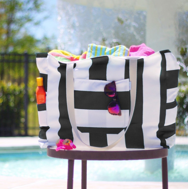 455b9eb9bff The Big Mommy Beach Bag Extra Large Custom Family Size Pool