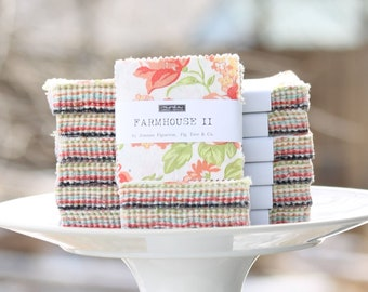 "Farmhouse II by Fig Tree for Moda Mini Charm Pack 2.5"" Squares"