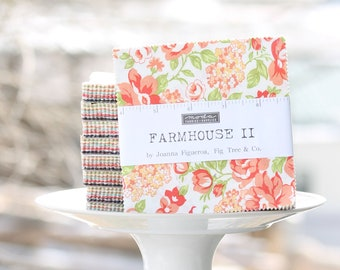 "Farmhouse II by Fig Tree and Co for Moda Charm Pack 5"" Squares"