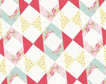 Courtly Graces by It's So Emma Quilt Pattern ~ Optional Sizes ~