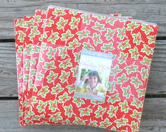 """Christmas Figs by Fig Tree and Co for Moda Layer Cake 10"""" Squares"""