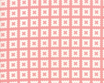 Little Snippets by Bonnie & Camille for Moda 55184 13 Coral ~ 5 Yard Backing Fabric~