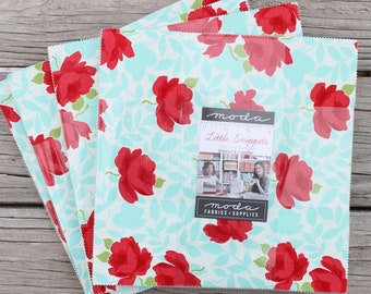 """Little Snippets by Bonnie & Camille for Moda Layer Cake 10"""" Squares"""