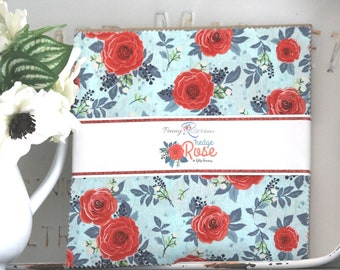 """Hedge Rose by Kelly Panacci for Penny Rose/ 10"""" Stacker Squares"""