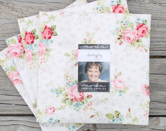 """Amberley by Brenda Riddle for Moda Layer Cake 10"""" Squares"""