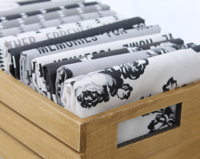 Urban Cottage by Urban Chiks for Moda ~ 15 Fat Quarter Bundle Prints only