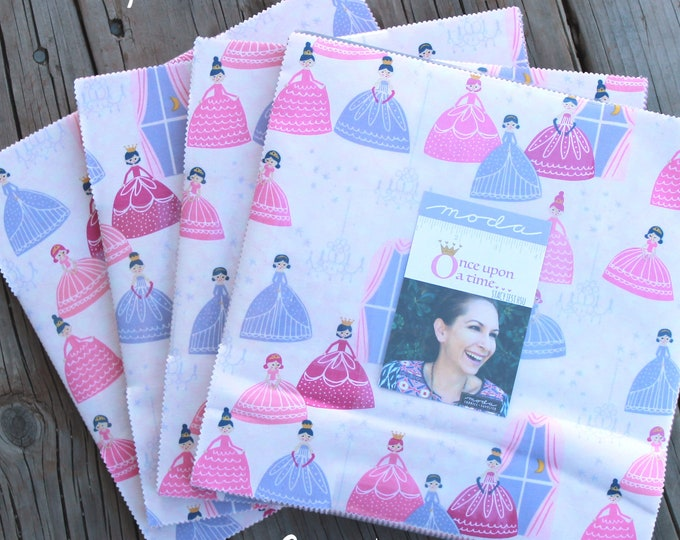 """Once Upon a Time by Stacy Iest Hsu for Moda Layer Cake 10"""" Squares"""