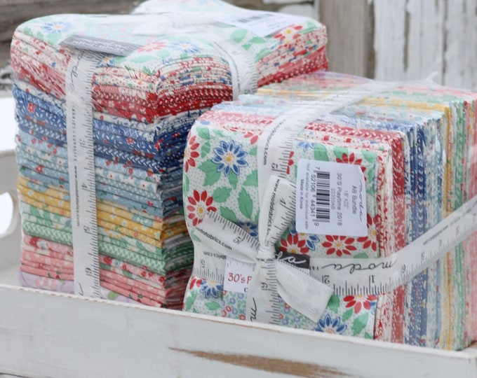 30's Playtime 2018 by Urban Chiks for Moda ~ 35 Fat Quarter Bundle