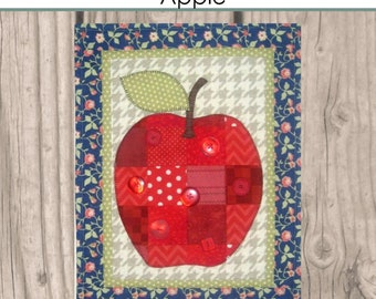 HNH26 Fruit in Patches - Apple PDF Pattern