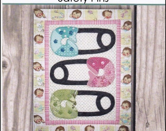 Babies in Patches - Safety Pins