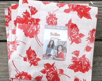 """Smitten by Bonnie & Camille for Moda Layer Cake 10"""" Squares"""