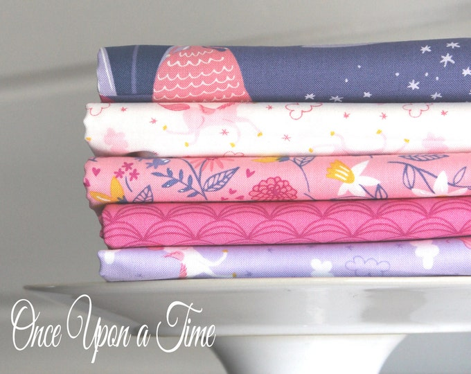 Once Upon a Time by Stacy Iest Hsu for Moda ~ 5 Fat Quarter Bundle