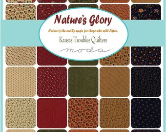 Nature's Glory by Kansas Troubles Quilters - Moda Scrap Bags