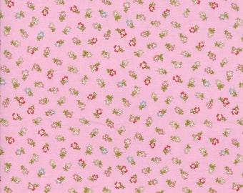 Coco by Chez Moi for Moda 33395 17 Tiny Flower Lavender ~ 5 Yard Backing Fabric~