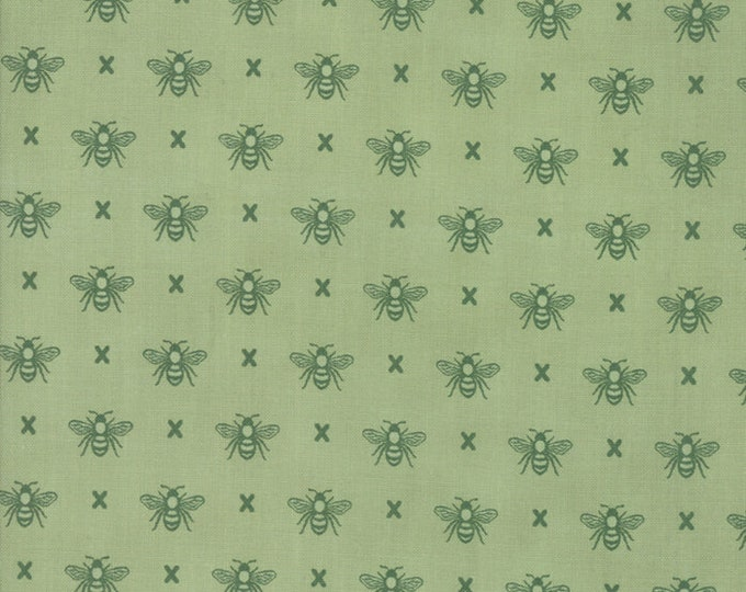 Garden Variety by Lella Boutique for Moda 5073 14 Grass ~By the half yard~
