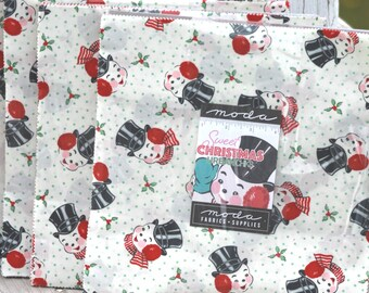 """Sweet Christmas by Urban Chiks for Moda Layer Cake 10"""" Squares"""