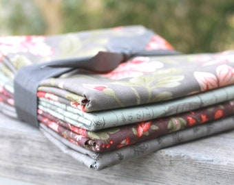 Quill by 3 Sisters for Moda ~ 4 Half Yard Bundle Floral Bundle B