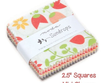 "Sundrops by Corey Yoder for Moda Mini Charm Pack 2.5"" Squares"