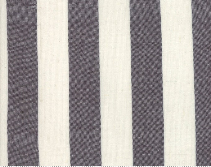 Urban Cottage WOVENS by Urban Chiks for Moda 31135 12 Bold Stripe Black Ivory ~ By the Half Yard ~