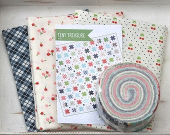 """Tiny Treasure Quilt Kit ~ Orchard by April Rosenthal ~ 51"""" x 51"""" ~"""