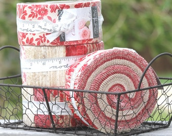 """CInnaberry by 3 Sisters for Moda Jelly Roll  2.5"""" strips"""