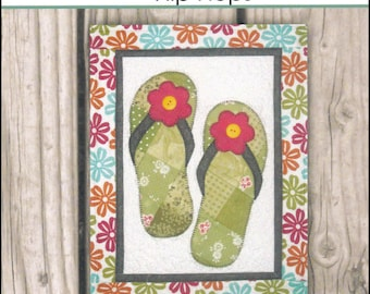 Seasons in Patches - Flip Flops