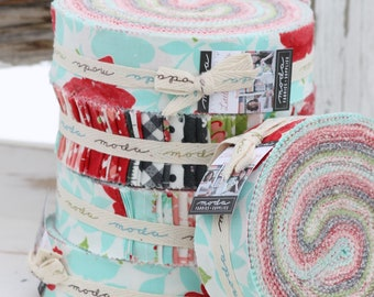 """Little Snippets by Bonnie & Camille for Moda Honey Bun  1.5"""" strips"""